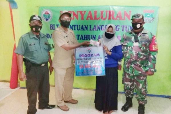 Pemerintah Desa Tanjung Pasir Salurkan 190 KPM (Keluarga Penerima Manfaat) BLT Dana Desa Tahap 3